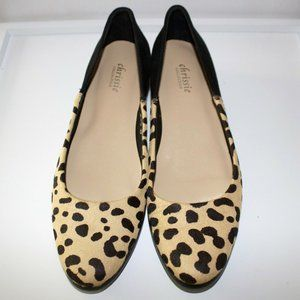Chrissie Collection Cheetah Leather Sandals